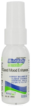 DROPPED: King Bio - Good Mood Enhancer - 1 oz. formerly Mind Body Remedies