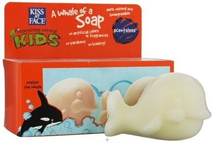DROPPED: Kiss My Face - Kids A Whale of a Soap Twin Pack Scentsless - 7 oz. CLEARANCE PRICED