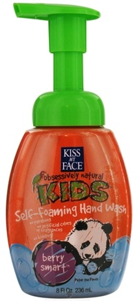 DROPPED: Kiss My Face - Kids Self-Foaming Hand Wash Berry Smart - 8 oz.