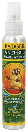 Badger - Anti-Bug Shake & Spray 100% Natural & Certified Organic - 4 oz.