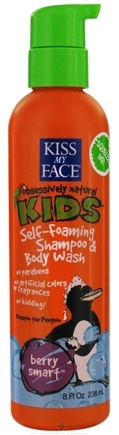 DROPPED: Kiss My Face - Kids Self-Foaming Shampoo & Body Wash Berry Smart - 8 oz.