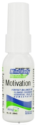 DROPPED: King Bio - Mind Body Remedies Motivation - 1 oz. CLEARANCE PRICED