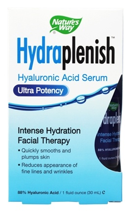 Nature's Way - Hydraplenish Hyaluronic Acid 88% Serum - 1 oz.