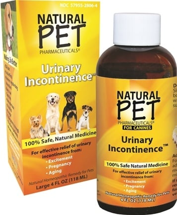DROPPED: King Bio - Natural Pet Urinary Incontinence For Canines Large - 4 oz.