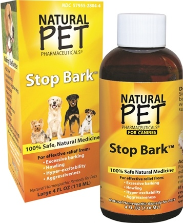 DROPPED: King Bio - Natural Pet Stop Bark For Canines Large - 4 oz. CLEARANCE PRICED