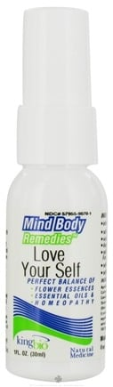 DROPPED: King Bio - Mind Body Remedies Love Your Self - 1 oz. CLEARANCE PRICED