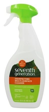 Seventh Generation - Disinfecting Multi-Surface Cleaner Spray Lemongrass & Citrus - 26 oz.