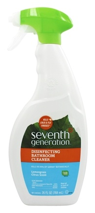 Buy Seventh Generation Disinfecting Bathroom Cleaner Spray - Spray bathroom cleaner