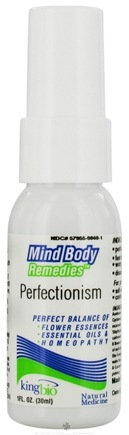 DROPPED: King Bio - Mind Body Remedies Perfectionism - 1 oz. CLEARANCE PRICED