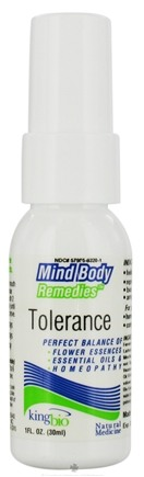 DROPPED: King Bio - Mind Body Remedies Tolerance - 1 oz.
