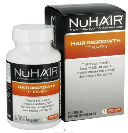 DROPPED: Nu Hair - Hair Regrowth For Men - 60 Tablets Formerly by Biotech Labs