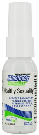 DROPPED: King Bio - Mind Body Remedies Healthy Sexuality - 1 oz. CLEARANCE PRICED