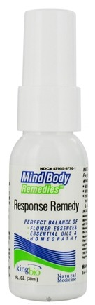 DROPPED: King Bio - Mind Body Remedies Recovery Remedy - 1 oz. CLEARANCE PRICED