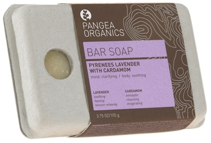 DROPPED: Pangea Organics - Bar Soap Clarifying & Soothing Pyrenees Lavender With Cardamom - 3.75 oz.