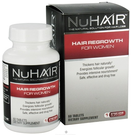 DROPPED: Nu Hair - Hair Regrowth For Women - 60 Tablets Formerly by Biotech Labs