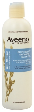 DROPPED: Aveeno - Active Naturals Skin Relief Shower and Bath Oil - 10 oz.