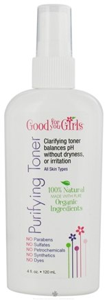 DROPPED: Good For You Girls - Purifying Toner - 4 oz. CLEARANCE PRICED