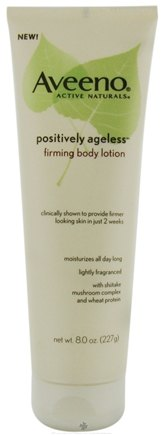 DROPPED: Aveeno - Active Naturals Positively Ageless Firming Body Lotion - 8 oz. CLEARANCE PRICED