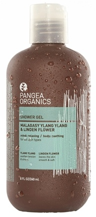 DROPPED: Pangea Organics - Shower Gel Relaxing & Soothing Malagasy Ylang Ylang & Linden Flower - 8.5 oz. CLEARANCE PRICED