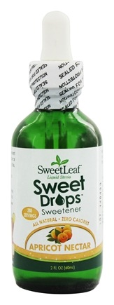 SweetLeaf - Sweet Drops Liquid Stevia Apricot Nectar - 2 oz.