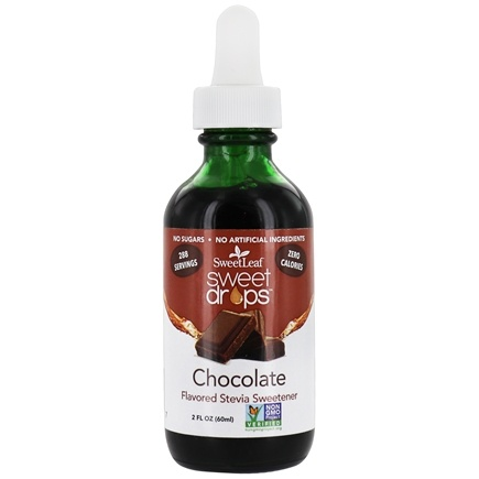 SweetLeaf - Sweet Drops Liquid Stevia Chocolate - 2 oz.