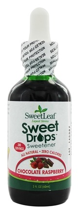 SweetLeaf - Sweet Drops Liquid Stevia Chocolate Raspberry - 2 oz.
