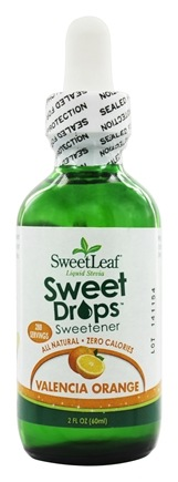 SweetLeaf - Sweet Drops Liquid Stevia Valencia Orange - 2 oz.