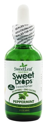 SweetLeaf - Sweet Drops Liquid Stevia Peppermint - 2 oz.