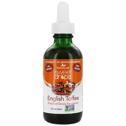 SweetLeaf - Sweet Drops Liquid Stevia English Toffee - 2 oz.