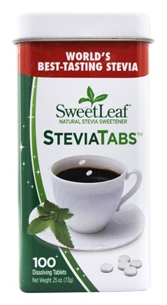 DROPPED: SweetLeaf - Sweetener Stevia Tabs - 100 Tablet(s)