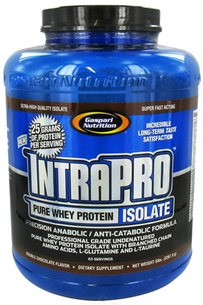 DROPPED: Gaspari Nutrition - IntraPro Pure Whey Protein Isolate Double Chocolate - 5 lbs.
