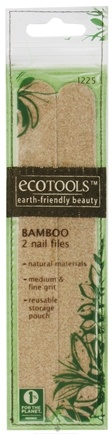 DROPPED: Eco Tools - Bamboo Nail Files - CLEARANCE PRICED