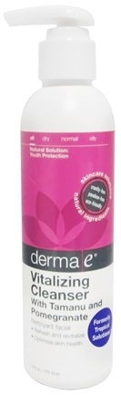 DROPPED: Derma-E - Tropical Solutions Facial Cleansing Gel with Tamanu - 6 oz. CLEARANCE PRICED