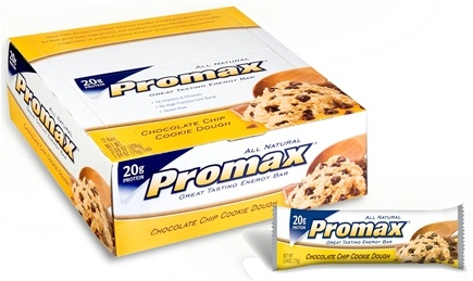 DROPPED: Promax - Energy Bar Chocolate Chip Cookie Dough - 2.64 oz.