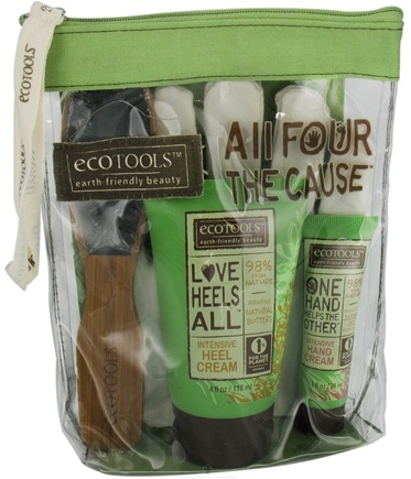 DROPPED: Eco Tools - All Four The Cause Hand & Foot Care Set - 4 Piece(s) CLEARANCE PRICED