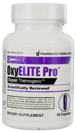 DROPPED: USP Labs - UNPUBLISHED Oxy Elite Pro S uper Thermogenic - 90 Capsules