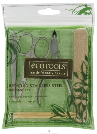 DROPPED: Eco Tools - Recycled Stainless Steel Nailcare Set - 7 Piece(s)