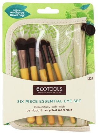 Zoom View - Bamboo Eye Brush Set