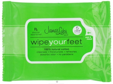 DROPPED: Jamar Labs - Wipe Your Feet Travel Pack - 5 Count