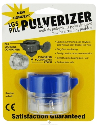 DROPPED: LGS Health Products - Pill Pulverizer - CLEARANCE PRICED