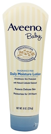 Aveeno - Baby Daily Moisture Lotion Fragrance Free - 8 oz.