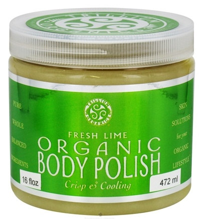 DROPPED: Trillium Organics - Organic Body Polish Fresh Lime - 16 oz. CLEARANCE PRICED