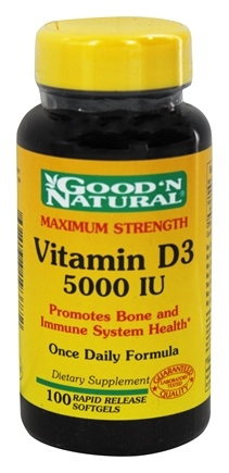 Zoom View - Vitamin D3 Maximum Strength Once Daily Formula