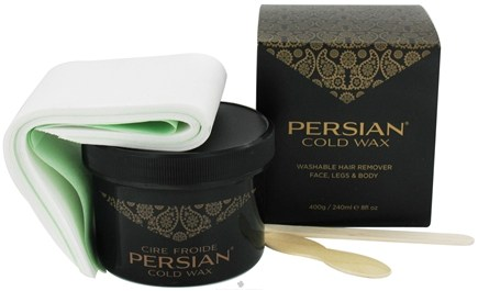 DROPPED: Parissa - Persian Cold Wax Hair Remover - 8 oz. CLEARANCE PRICED