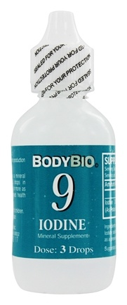 DROPPED: Body Bio - Liquid Minerals Iodine 9 - 2 oz.