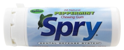 Xlear - Spry Chewing Gum with Xylitol Peppermint - 30 Piece(s)