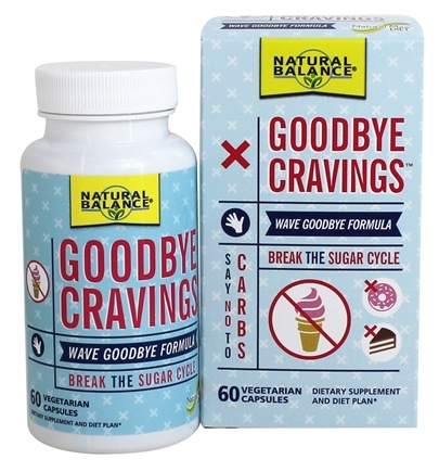 Natural Max - Goodbye Cravings Break The Sugar Cycle - 60 Vegetarian Capsules