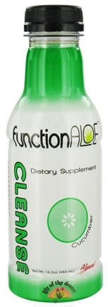 Zoom View - Function Aloe Cleanse RTD
