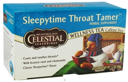 Zoom View - Sleepytime Throat Tamer Wellness Tea