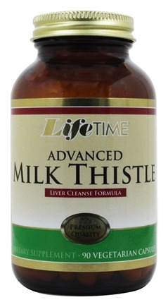 LifeTime Vitamins - Milk Thistle Formula Advanced Liver Cleanse - 90 Capsules